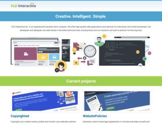 vldinteractive.com screenshot