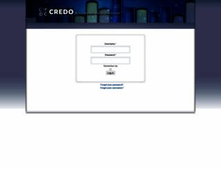 vle.credoreference.com screenshot