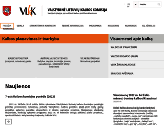 vlkk.lt screenshot