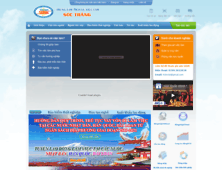 vlsoctrang.vieclamvietnam.gov.vn screenshot
