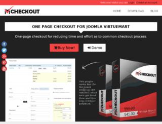 vmcheckout.com screenshot