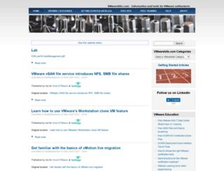 vmwarebits.com screenshot
