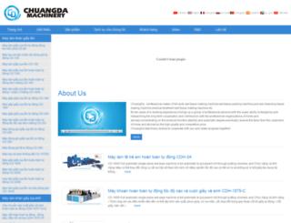 vn.chuangdamachine.com screenshot