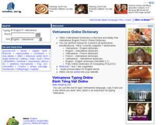 vndic.org screenshot