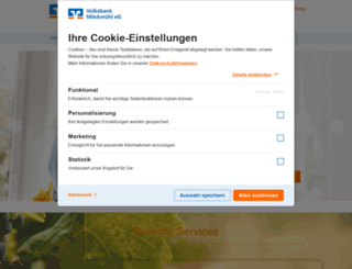 voba-moeckmuehl.de screenshot