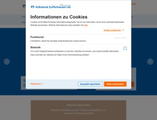 voba-zuff.de screenshot