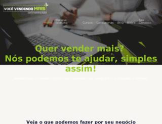 vocevendendomais.com.br screenshot