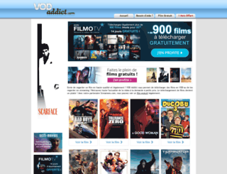 vodaddict.com screenshot
