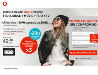 vodafone.digitalmedia-comunicacion.com screenshot
