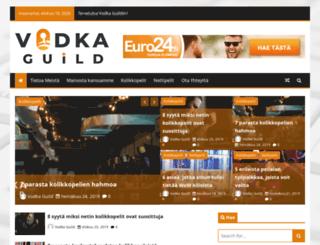 vodka-guild.net screenshot