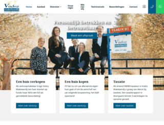 vodoz.nl screenshot
