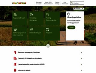 voerendaal.nl screenshot