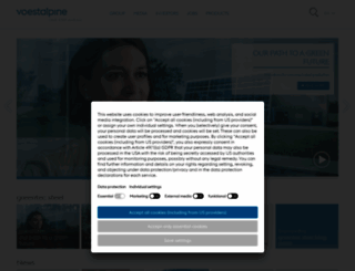 voestalpine.com screenshot