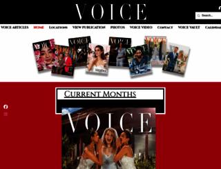 voice-tribune.com screenshot
