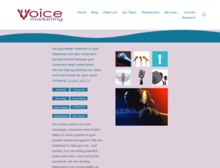 voicemarketing.com screenshot