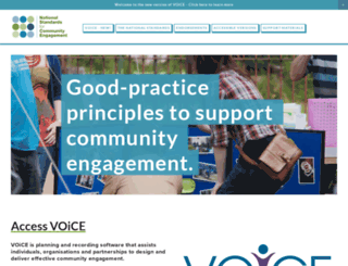 voicescotland.org.uk screenshot