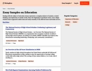 voiceseducation.org screenshot