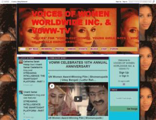 voicesofwomenworldwide-vowwtv.ning.com screenshot