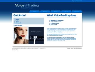 voicetrading.com screenshot