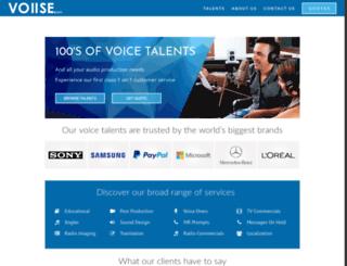 voiise.com screenshot