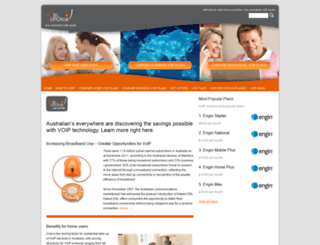 voipchoice.com.au screenshot