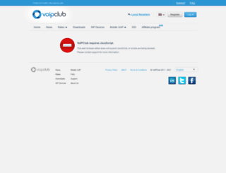 voipclub.biz screenshot