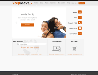 voipmove.com screenshot