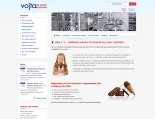 vojta-equipment.com screenshot