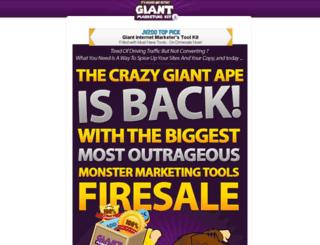 vol2.giantmarketingkit.com screenshot