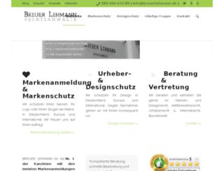 volkerlehmann.com screenshot