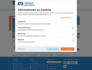 volksbank-brenztal.de screenshot
