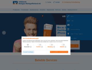 volksbank-muellheim.de screenshot