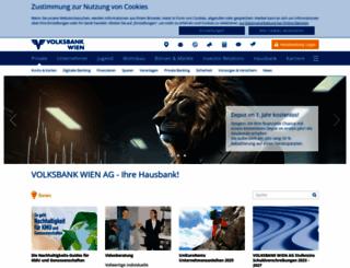 volksbankwien.at screenshot