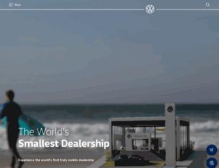 volkswagen-commercial.com.au screenshot