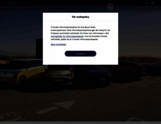 volkswagen.no screenshot