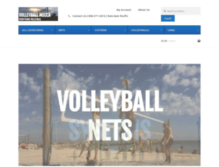volleyballmecca.com screenshot