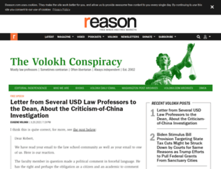 volokh.com screenshot