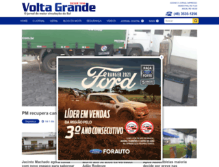 voltagrandeonline.com.br screenshot