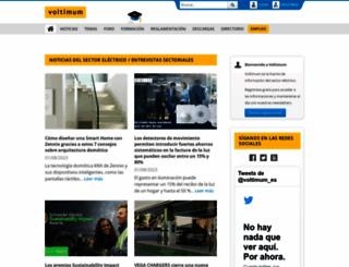 voltimum.es screenshot