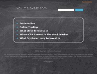volumeinvest.com screenshot