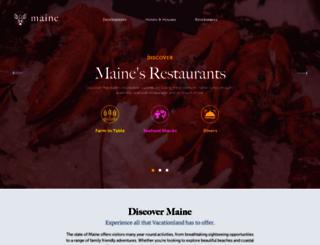 volunteermaine.org screenshot