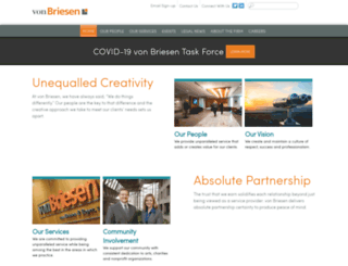 vonbriesen.com screenshot