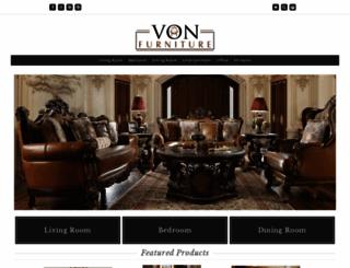 vonfurniture.com screenshot