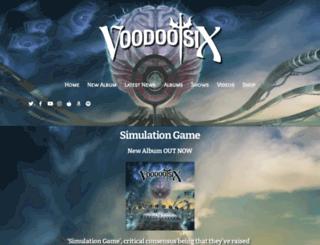 voodoosix.com screenshot