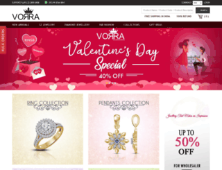 vorrafashion.com screenshot