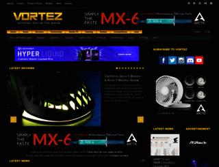 vortez.net screenshot