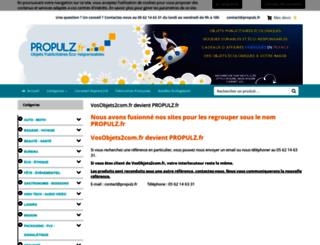 vosobjets2com.fr screenshot