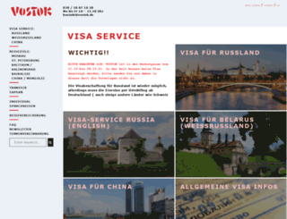 vostok.de screenshot