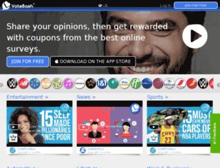 votebash.com screenshot