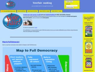 votefair.org screenshot